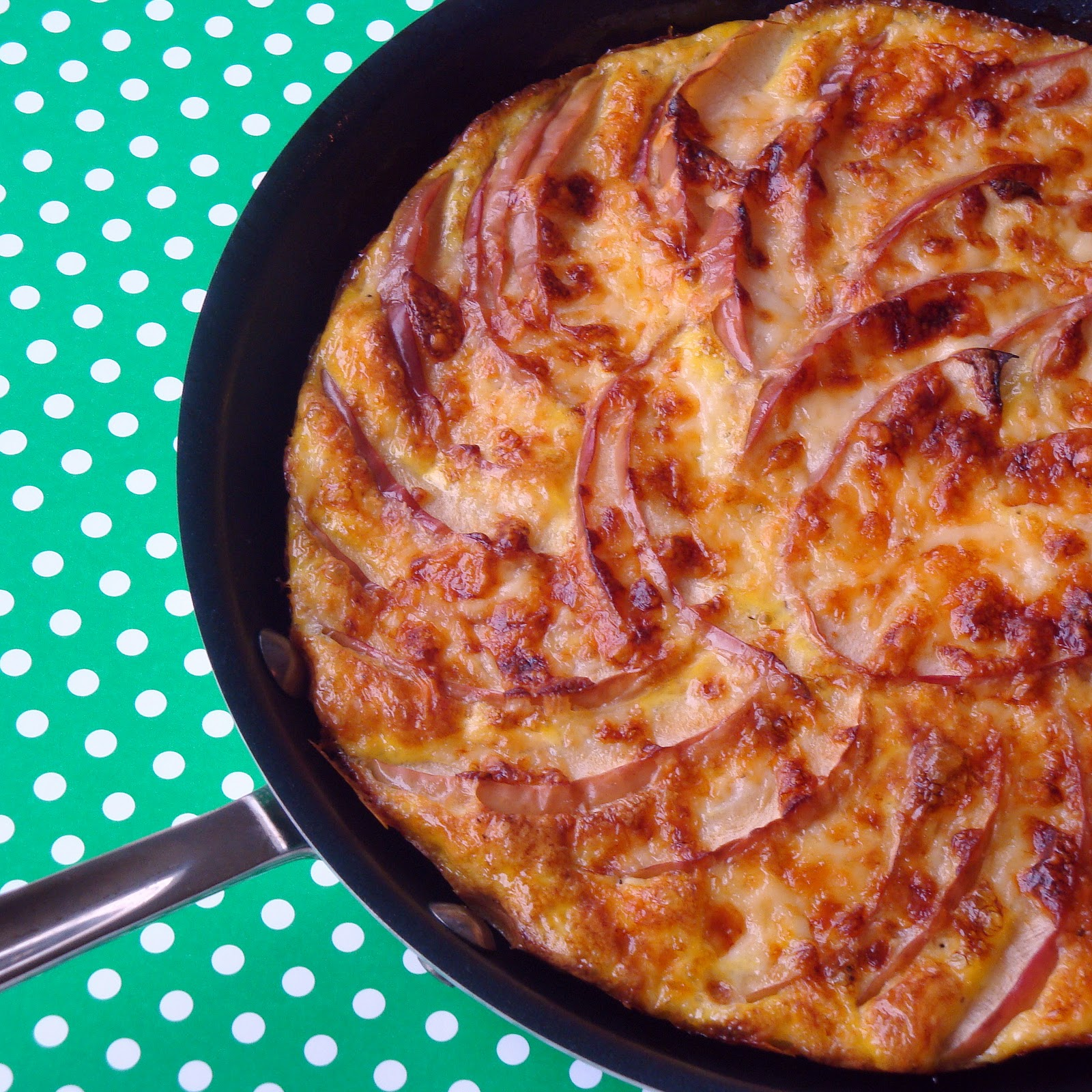 Apple Cheddar Frittata - Alida's Kitchen