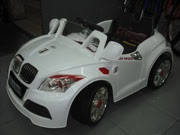 White BMW, best selling ride on car!