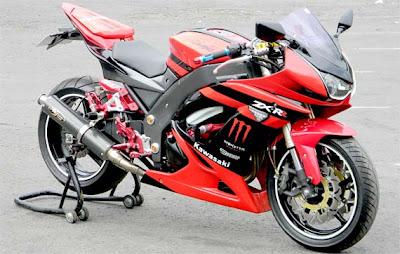Kawasaki Ninja 250 airbrush