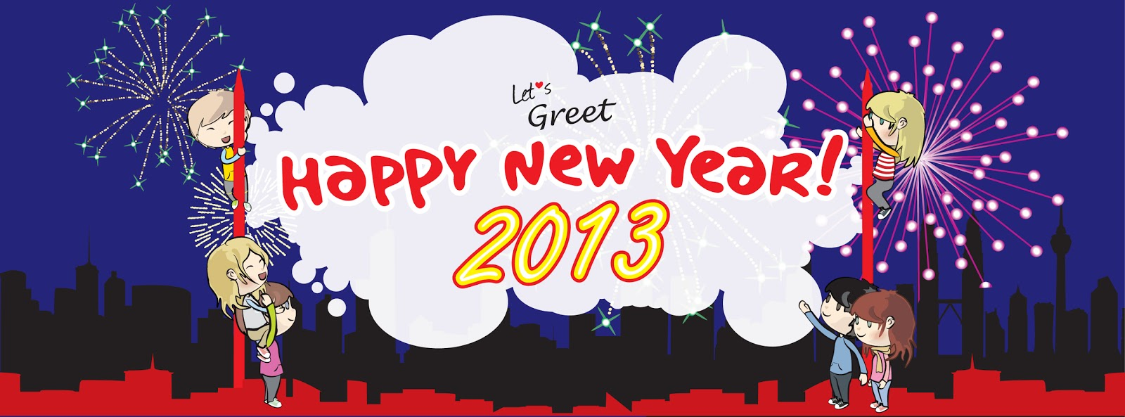 the starting point of 2013 but we are too excited about the brand new year already so heres our facebook banner happy new year in advance everybody