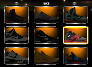 Download NBA 2K13 Red & Black Shoes Mod