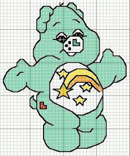 Imagens para bordado - Ursinhos carinhosos