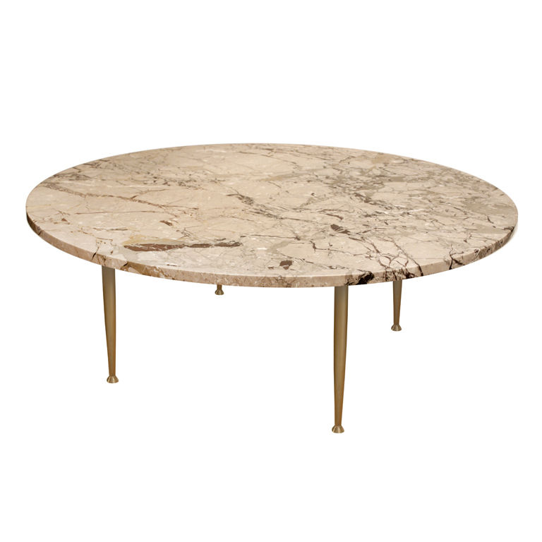 FIND OF THE WEEK VINTAGE BRASS GLASS COFFEE TABLE
