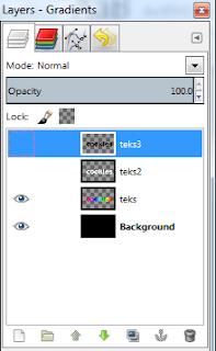 Membuat Teks Berkilau dengan GIMP