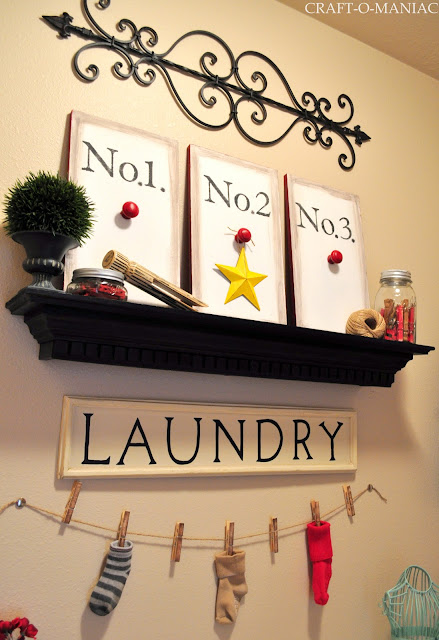 Laundry Room www.craft-o-maniac.com