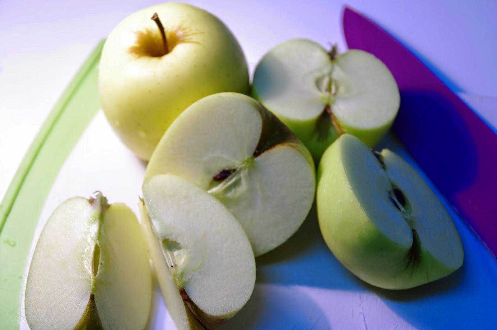 cortamos las manzanas