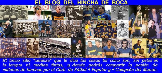 EL BLOG DEL HINCHA DE BOCA