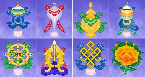 """Los Ocho Signos Auspiciosos Tibetanos """"El Cuerpo del Buda"""" 10341851_807274179314517_3629433606994326186_n"""
