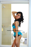 Foto Julia Sukma di Majalah Popular Januari 2013