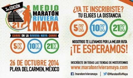 Medio Maratón Riviera Maya