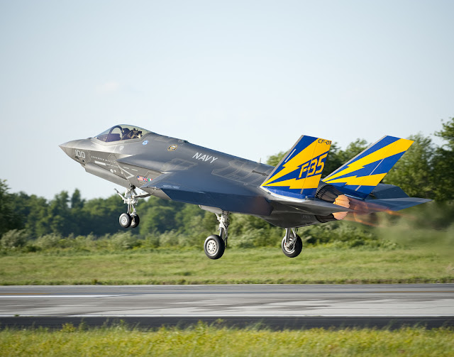 F-35 JSF takeoff afterburner