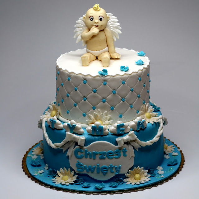 Christening Cake - London Cakes