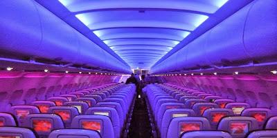 La cabina de pasajeros del Airbus A320