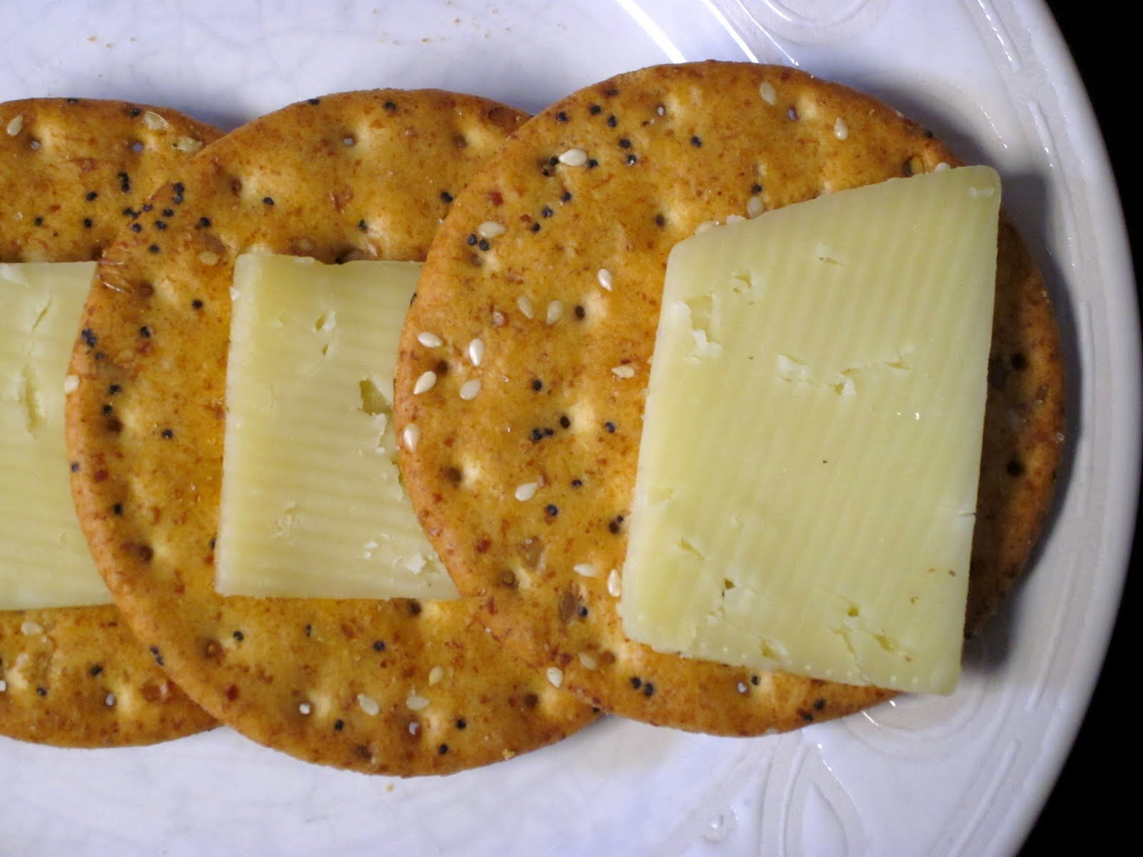 A Kuk's Kitchen: Snack Series: Cheese and Crackers