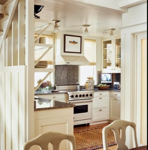 Small Kitchen Love Content in a Cottage