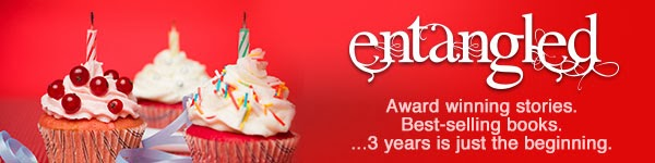 A Message From Entangled Publishing: Entangled Is Turning 3