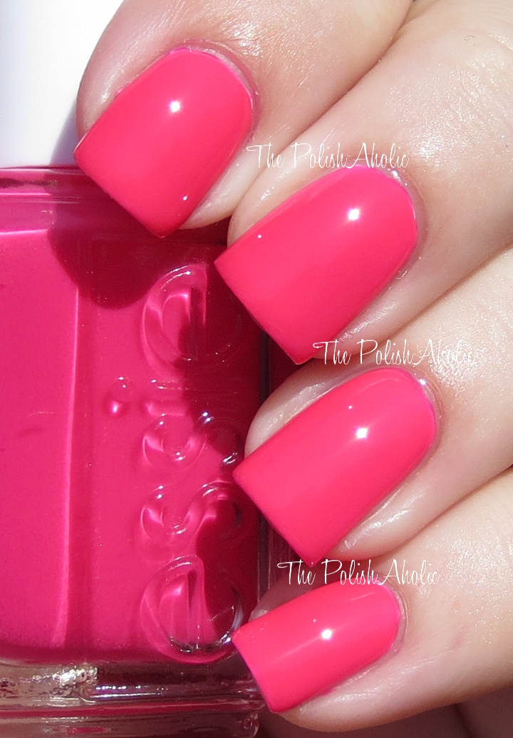 The PolishAholic: Essie Neon 2013 Collection Swatches & Review