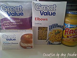 Easy Peezy Baked Mac N Cheese..Creation by Amy Perdew