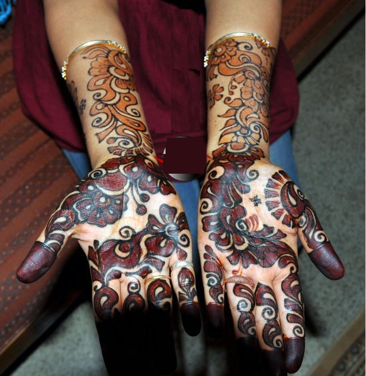 Mehndi Ideas Lahore : Mehndi design pakistani arabic designs