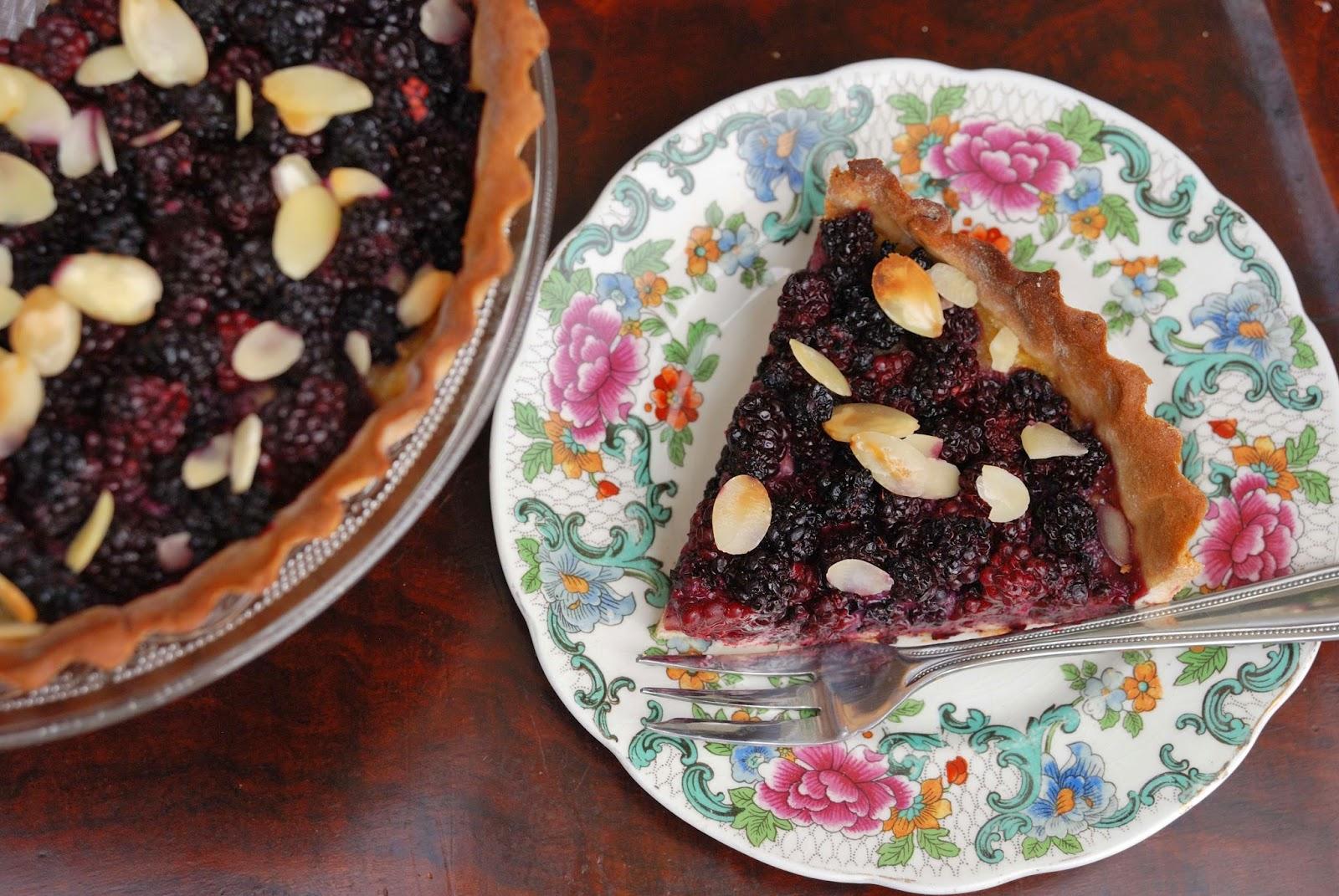 wild blackberry tart recipe