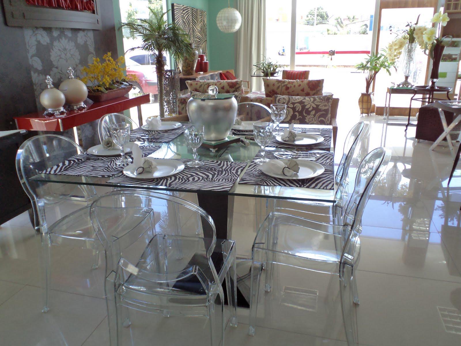M Veis Em Acr Lico -> Cadeiras Para Sala De Jantar Acrilico