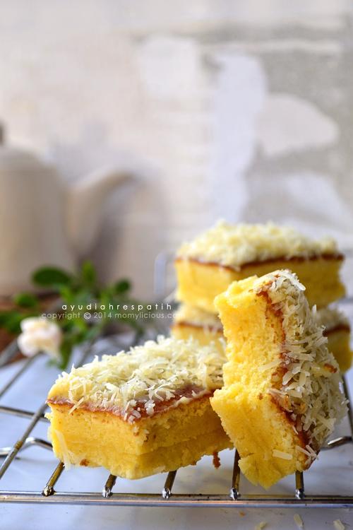 Cake Potong Keju A la Bolu Hongkong