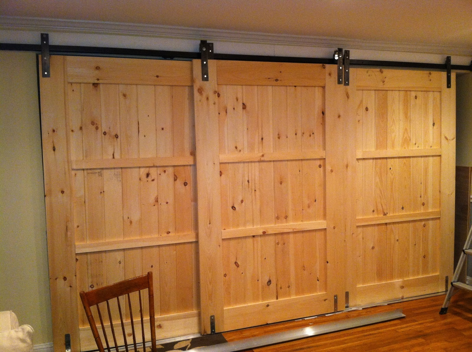 Mfsamuel Finally Posting My Barn Doors With A Twist At