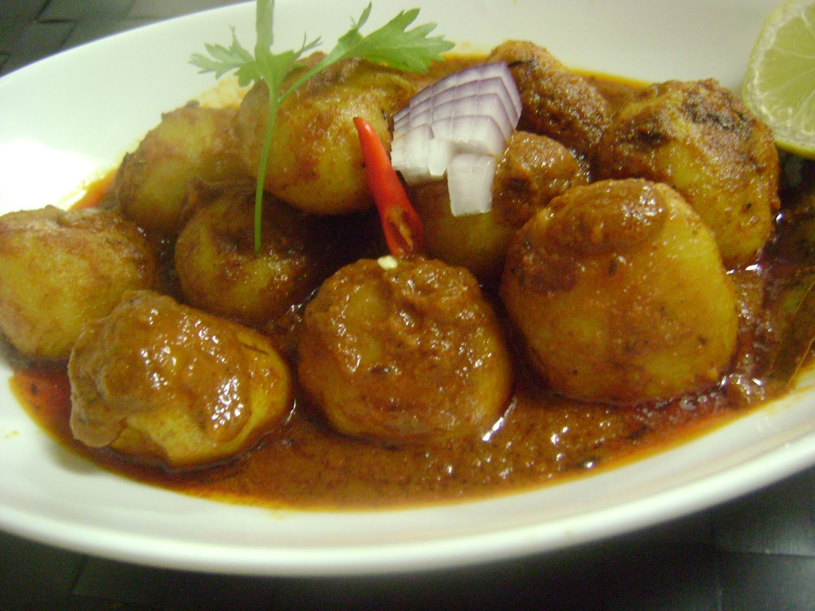 how to cook potato for curry