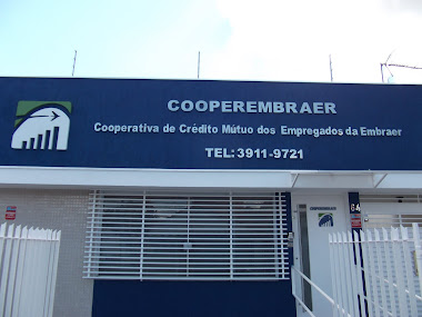 FACHADAS LETREIROS EM LETRAS CAIXA EM AÇO INOX ESCOVADO COOPERATIVA EMBRAER SÃO JOSÉ DOS CAMPOS-SP