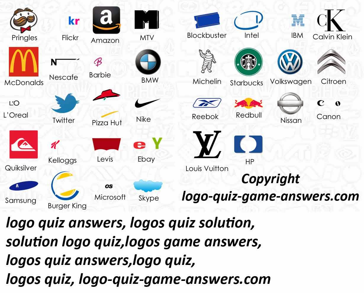 Logo Games and Quizzes