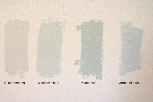 Benjamin Moore Quiet Moments Paint Color