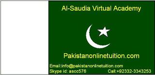 Online Tuition Pakistan