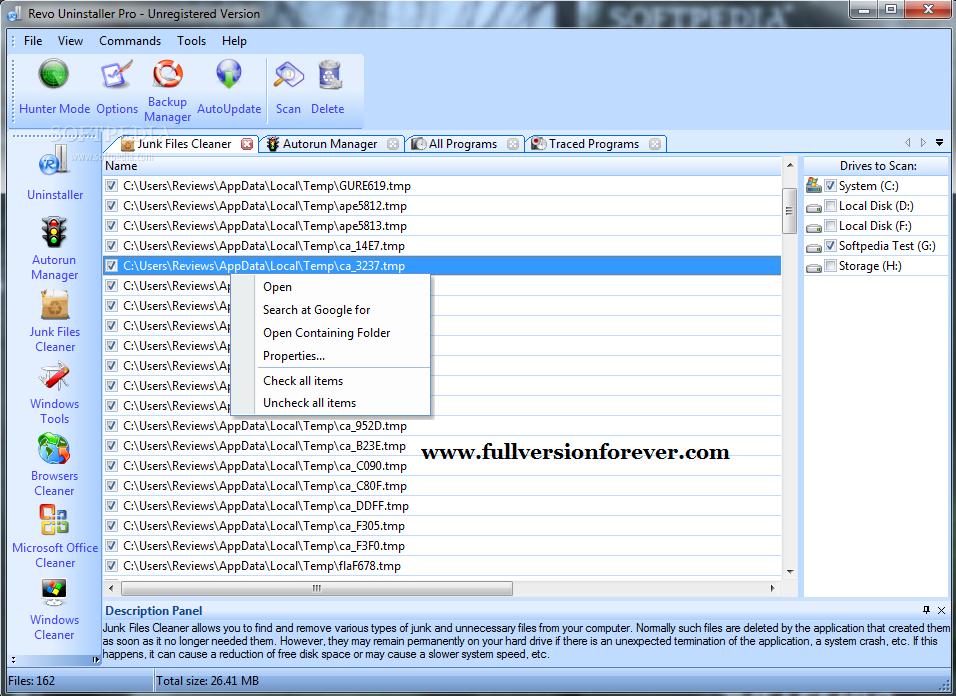 Revo uninstaller pro v2.5.0 final 3264 bit