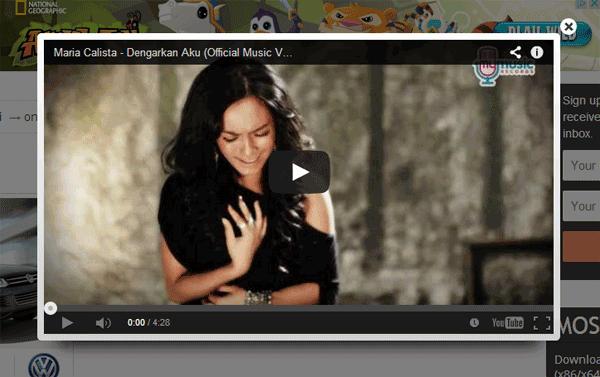 Manipulasi Tampilan Video Youtube Di Postingan Blog