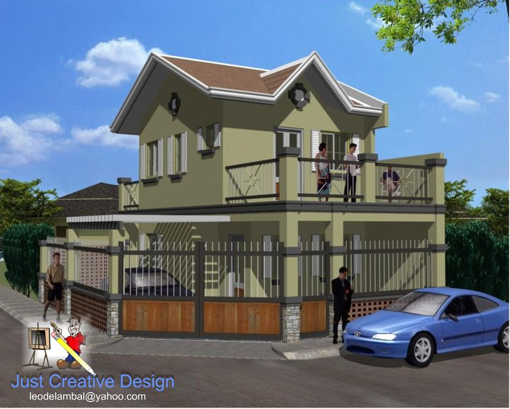 Good Corner Lot House Design Philippines Part 9