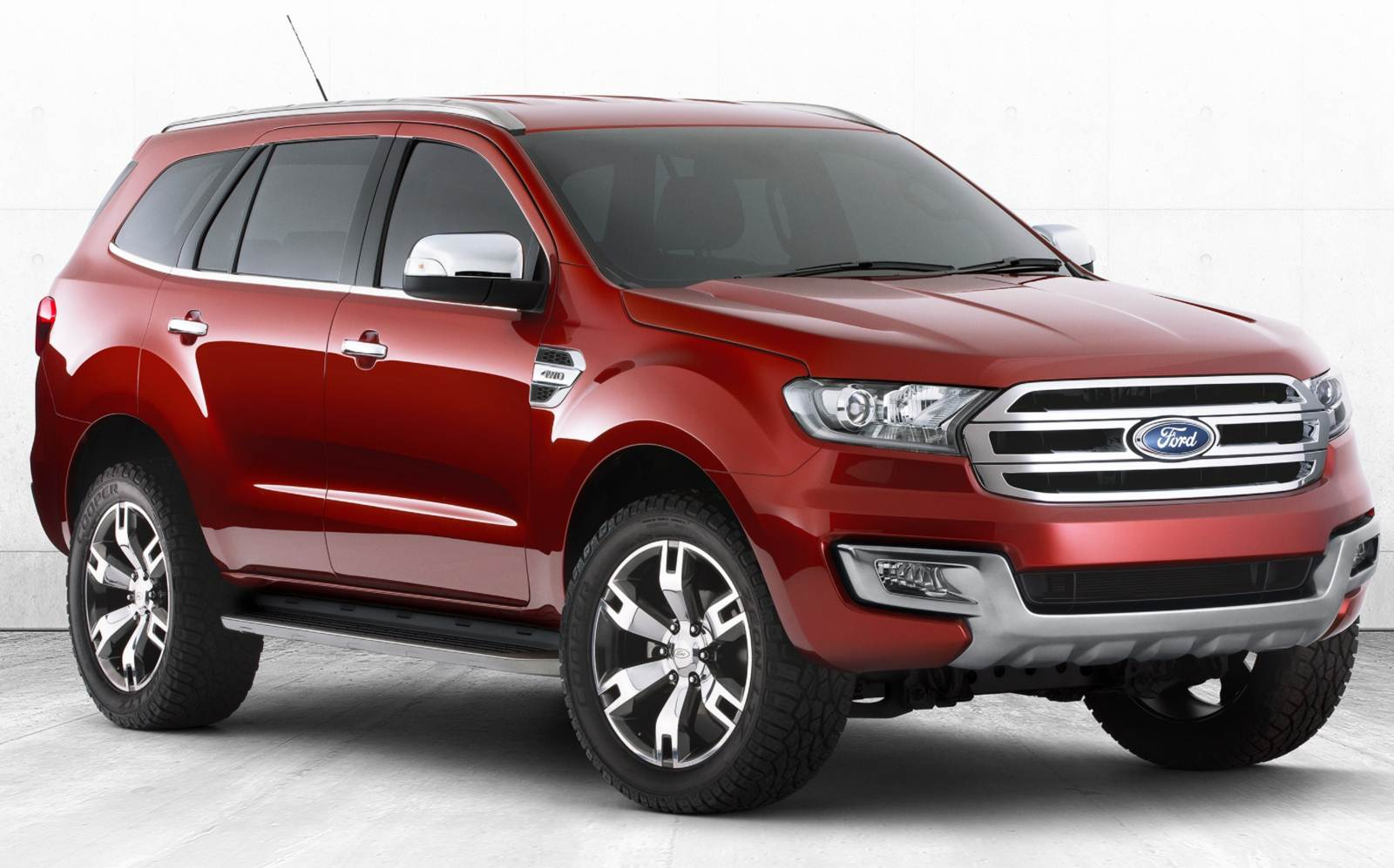 Novo Ford Everest 2015