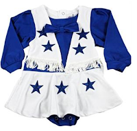 Dallas Cowboy Baby Clothes