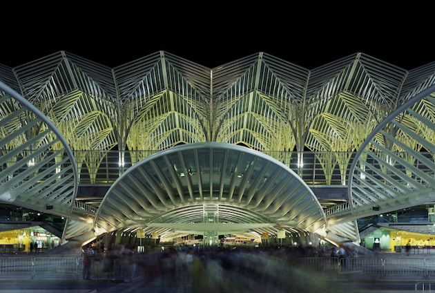 and engineer santiago calatrava the ucoriente stationud is the train station located in lisbon which was a preparatory part of the u world expo