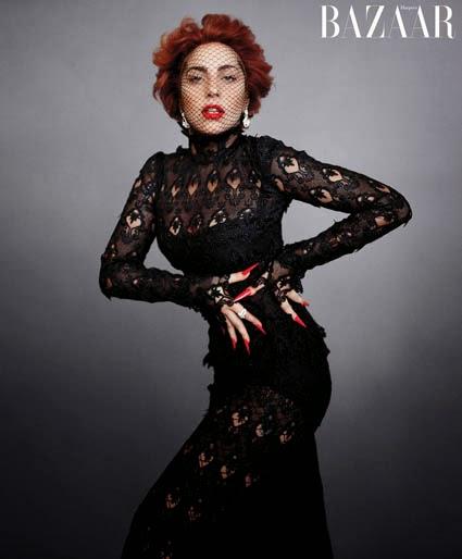 Lady Gaga en Harper's Bazaar 2014