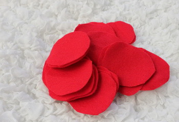 Заготовки для подушки с сердцем