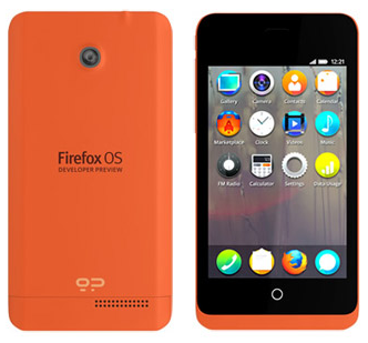 Firefox OS Graphical User Interface
