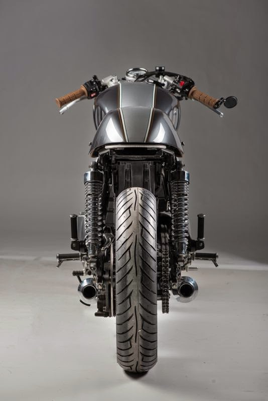 Racing Caf       Triumph       Thruxton    2007  312  by Analog Motorcycles