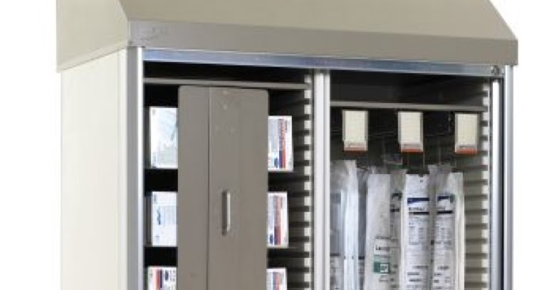 Metro Shelving Products Suture & Catheter Storage Cabinet