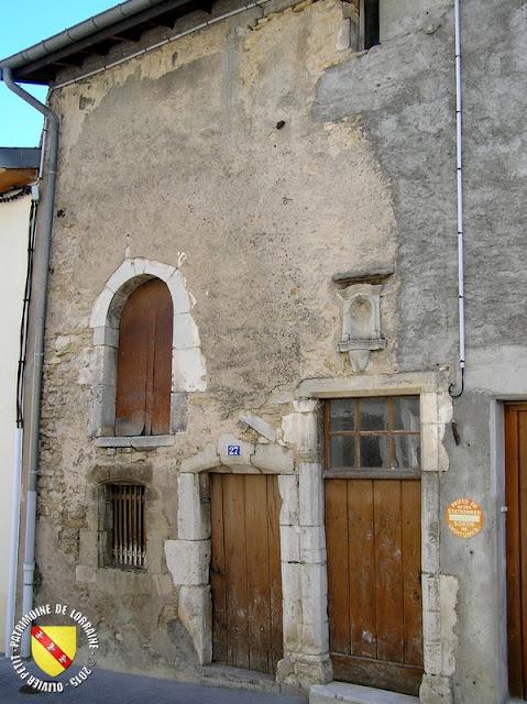 GONDREVILLE (54) - Village - Maison XVIIe