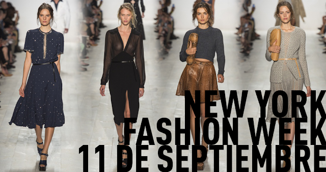 New York Fashion Week 11 septiembre