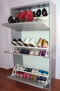 Botineros para organizar todos los calzados de la casa for Zapatero mueble mercadolibre