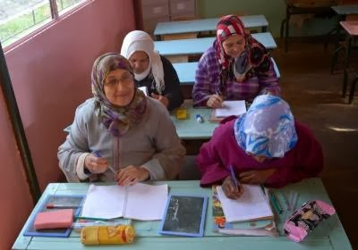 MOROCCO-LITERACY-WOMEN