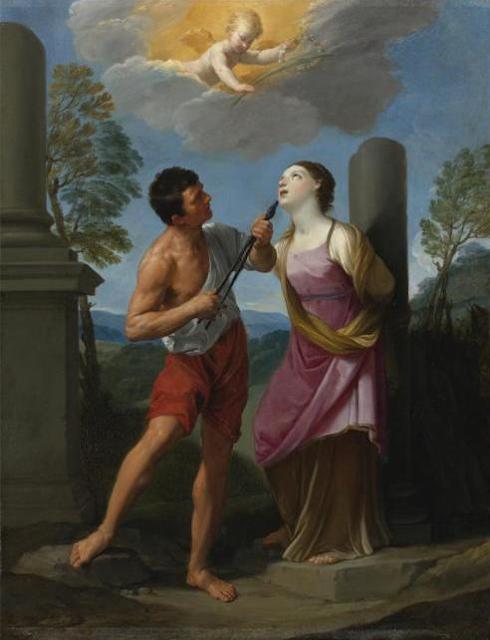 Το Μαρτύριο της Αγίας Απολλωνίας, πίνακας του Guido Reni
