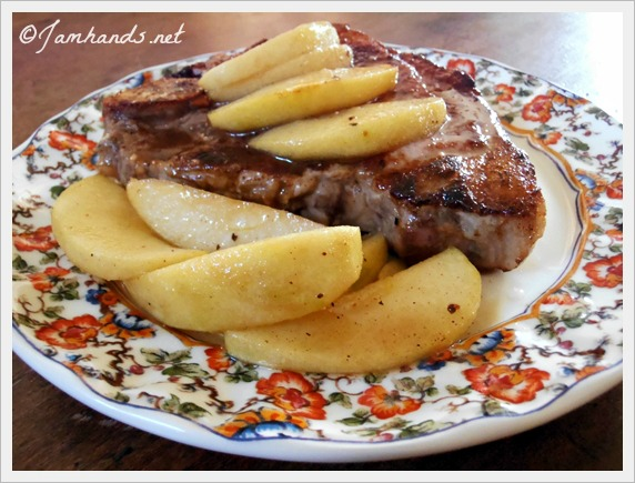 ... pork chops with apple butter caramel apple pork chops recipe yummly