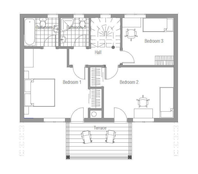 affordable home plans affordable house plan ch58